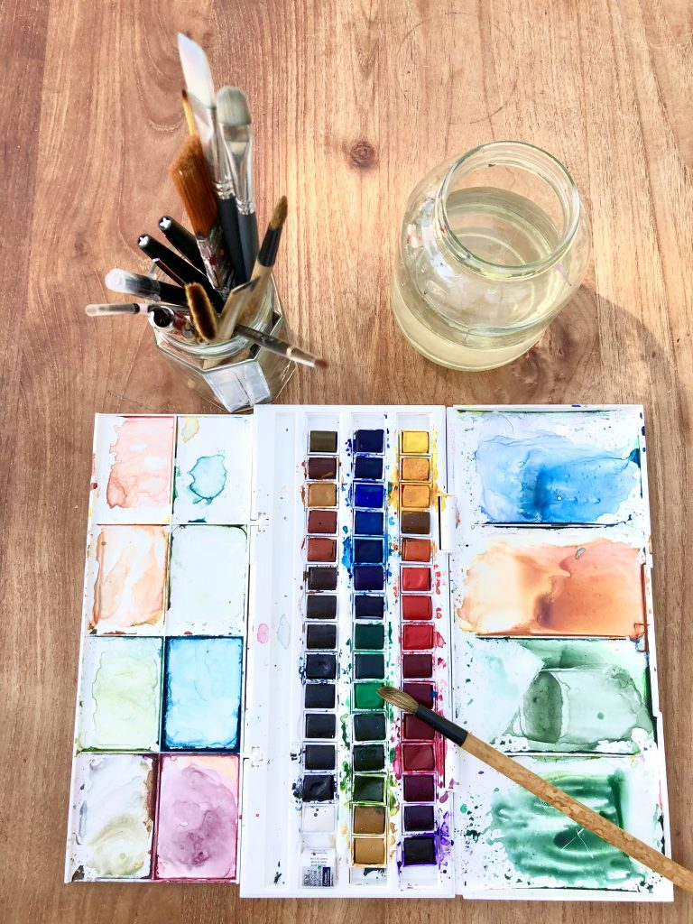 Pigments by Marianne